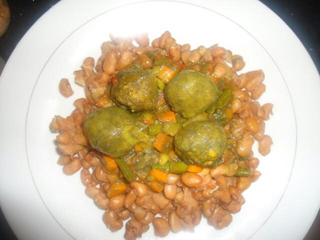 Plantain Ball Curry