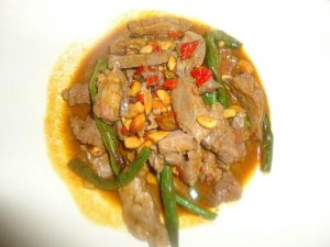 Beef and Green Bean Sauce