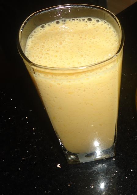 Quick Mango Shake