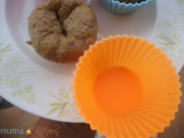 Making Sunflower Flax Muffins
