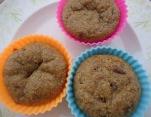 Sunflower Flax Muffins