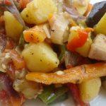 Eggplant and Potato Stirfry