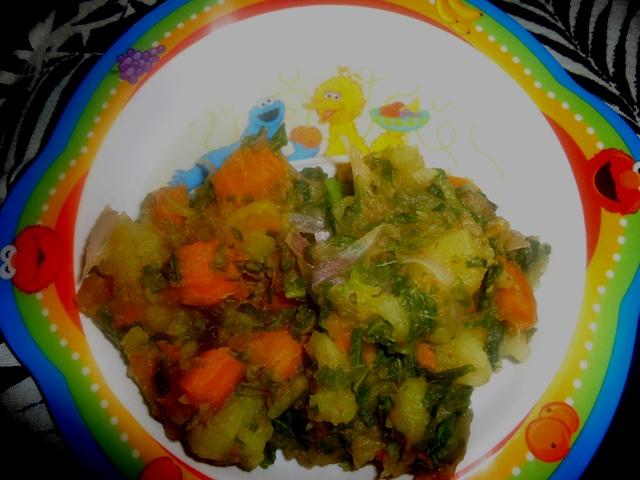 Potato and Carrot Pottage Recipe