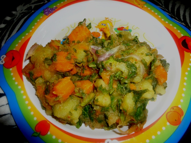 Potato and Carrot Pottage