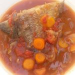 Tilapia in Gingery Tomato Sauce