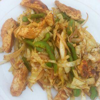 Quick Wok Chicken