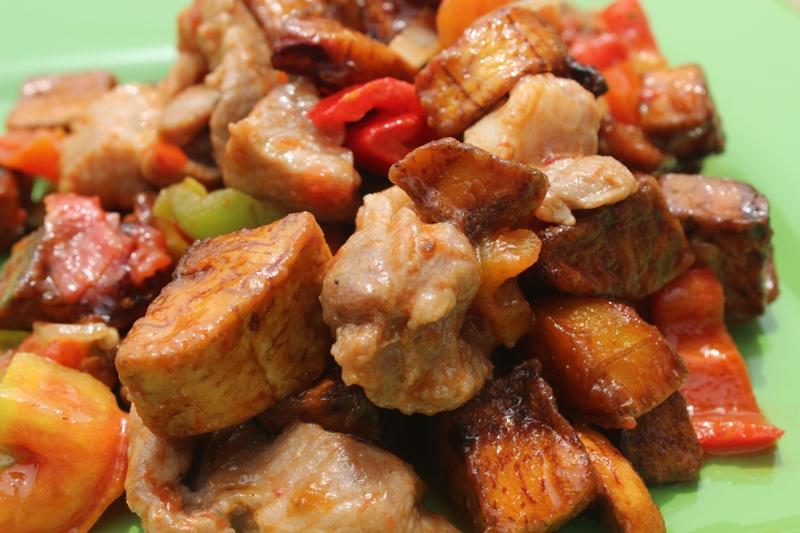 Pork and Plantains Recipe