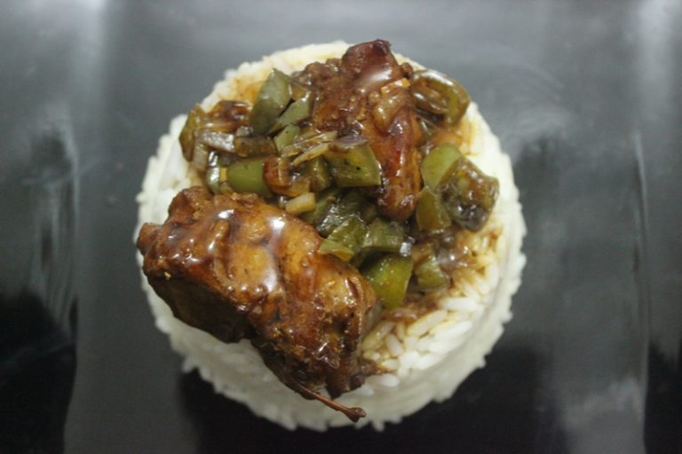 Pork(or Chicken, Beef) in Oyster Sauce