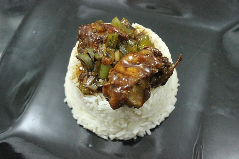 pork with oyster sauce