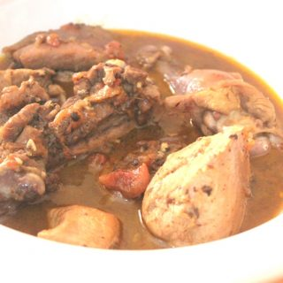 Nigerian Chicken Curry