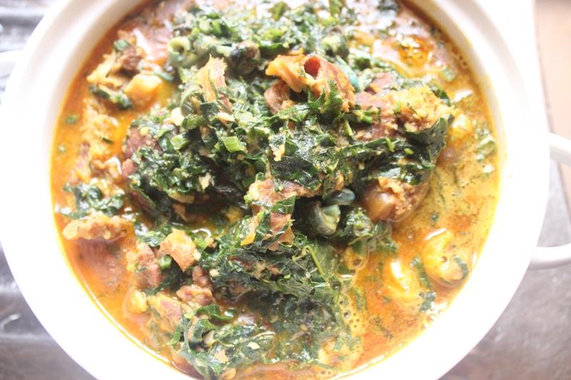 how to cook ugu soup