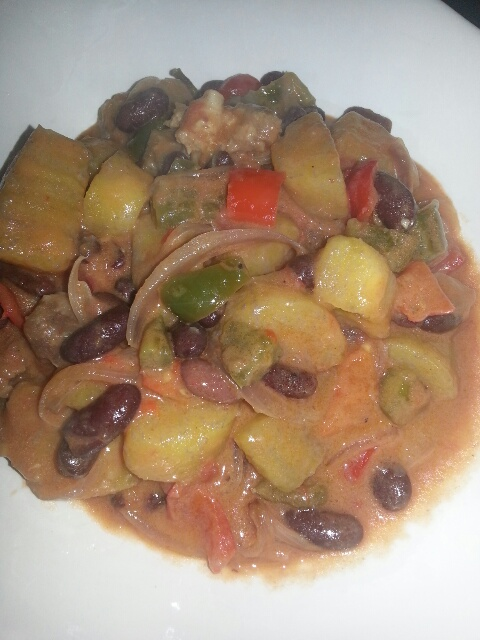 Beef and Plantain Medley