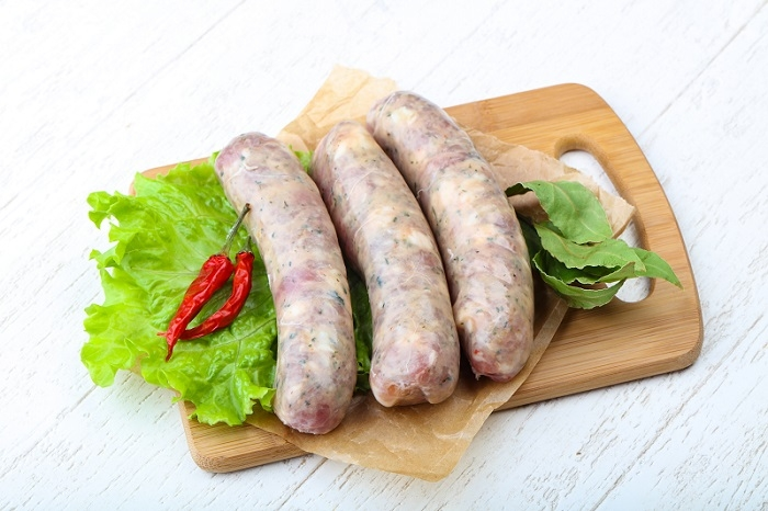 How to cook raw sausage