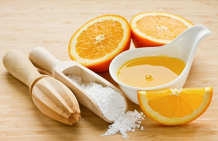 simple orange syrup for cakes
