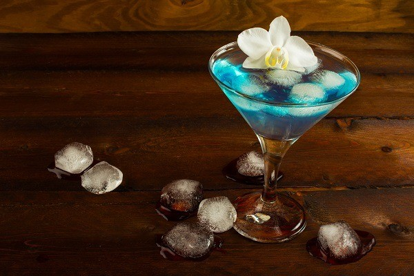 Blue Martini Cocktails