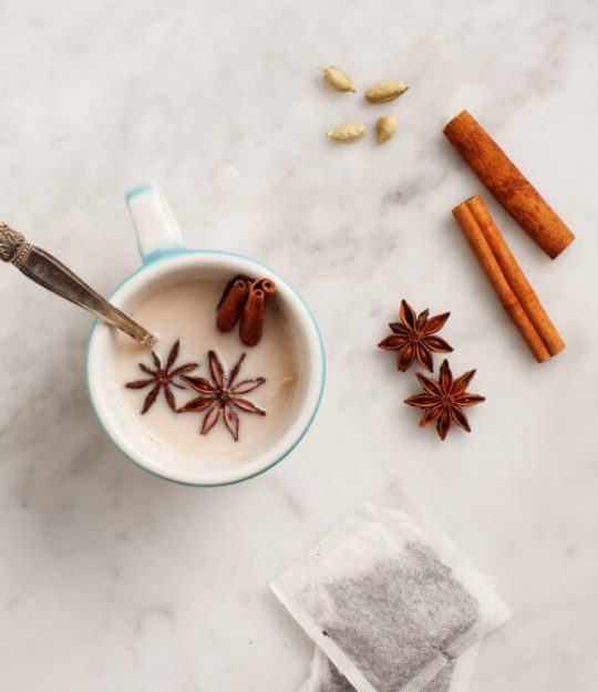 Almond Milk Chai Latte by Love & Lemons