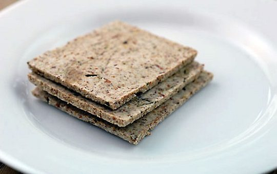 Almond Pulp Crackers by Elana's Pantry