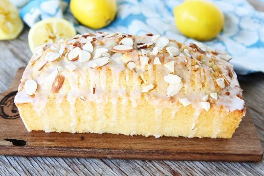 Lemon Almond Bread by Two Peas and Their Pod