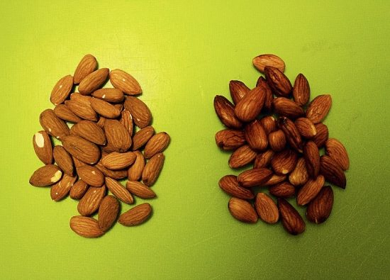Soaked vs unsoaked almonds