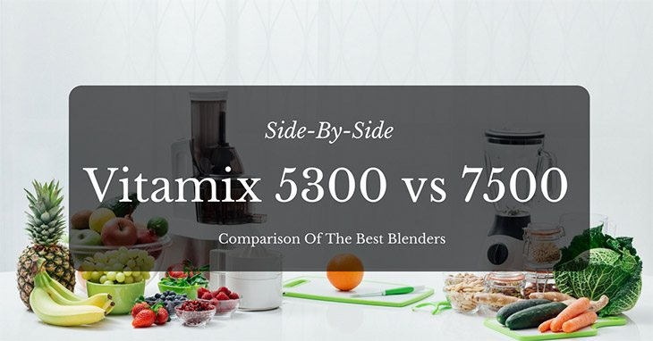 Vitamix 5300 Vs 7500 Side By Side Comparison Of The Best