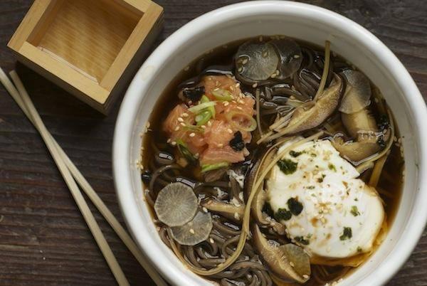 Winter soba noodles